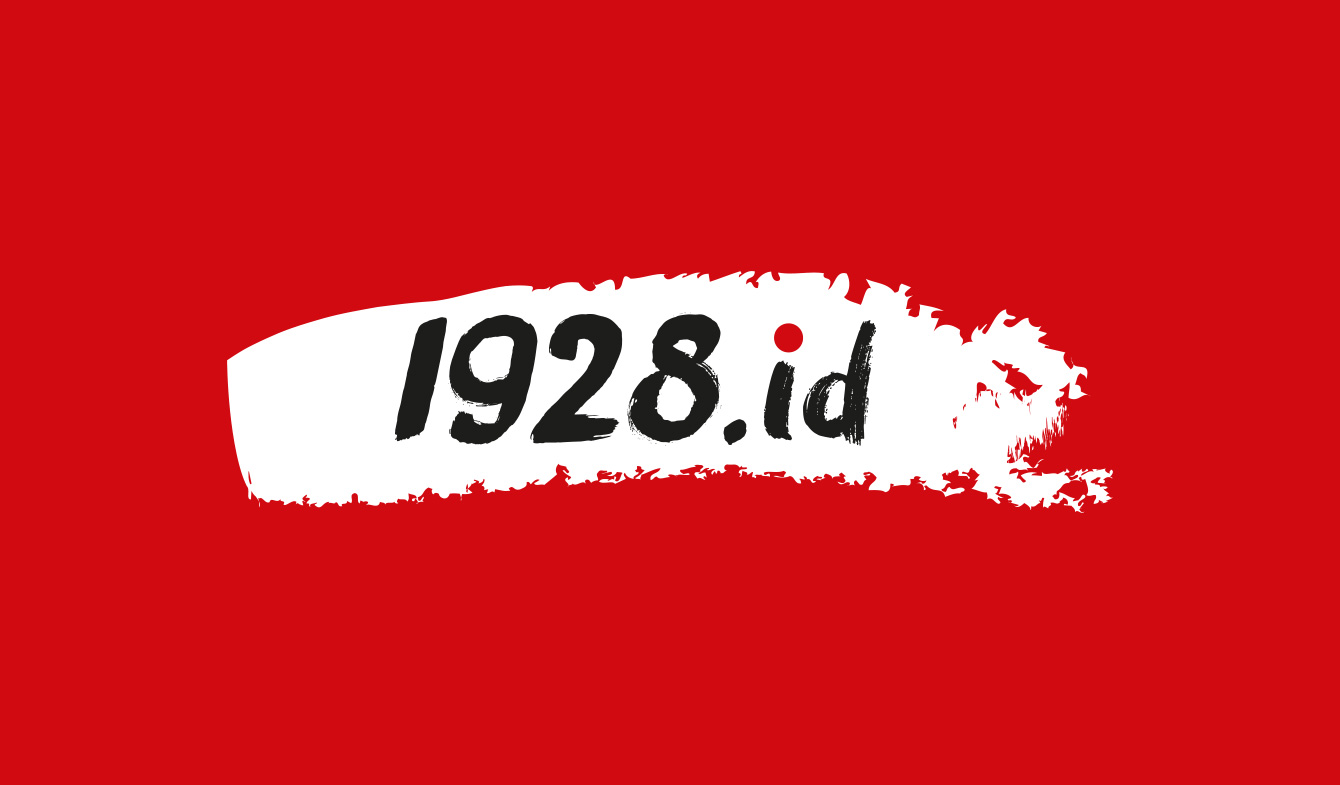 Logo 1928.id on Red