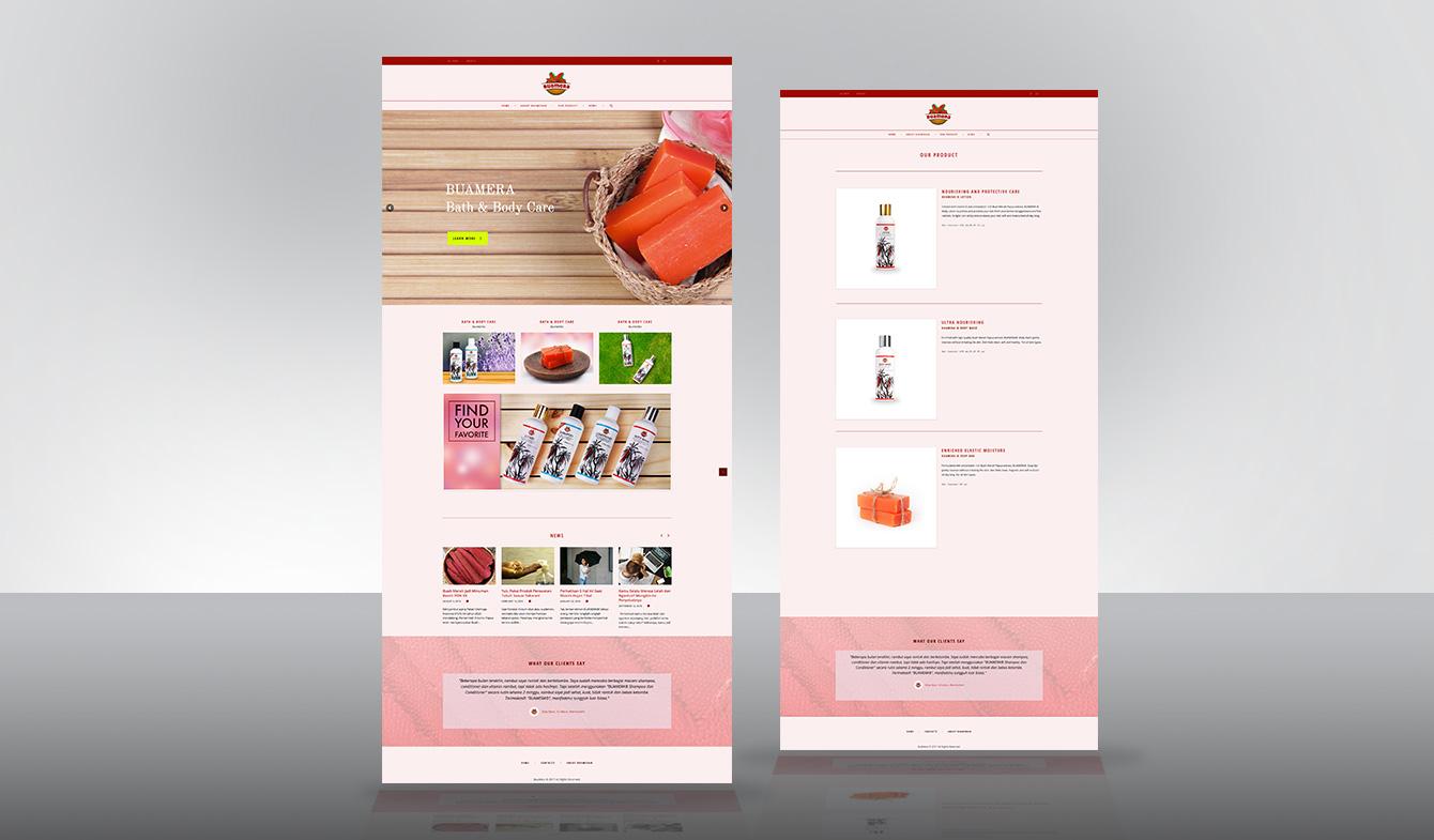 Website www.buamera.co.id