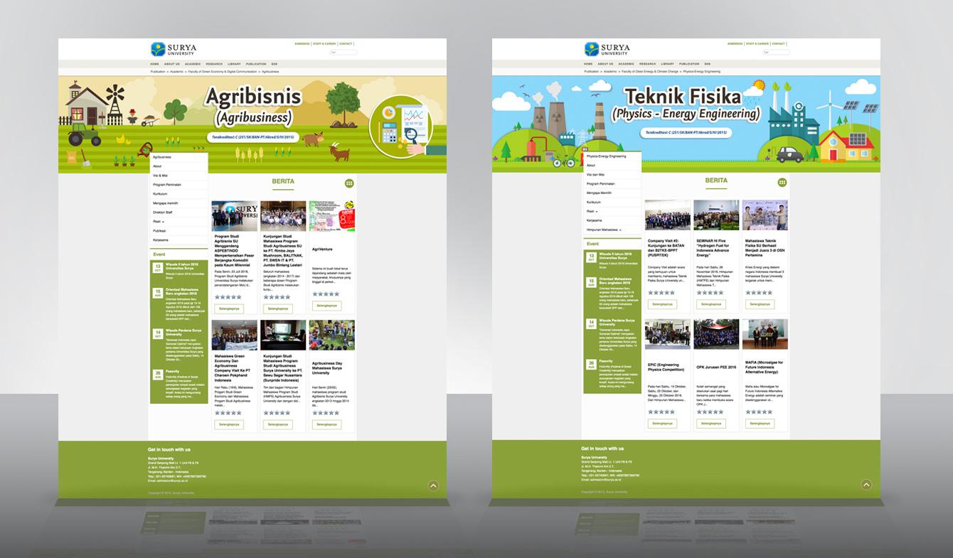 Web Dev. www.surya.ac.id v.3